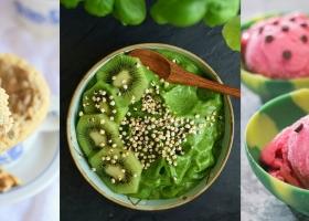 Helado vegano pura fruta